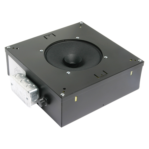 "8"" Soundmasking Speaker With 529 Cu. In. Channel Rail Enclosure"