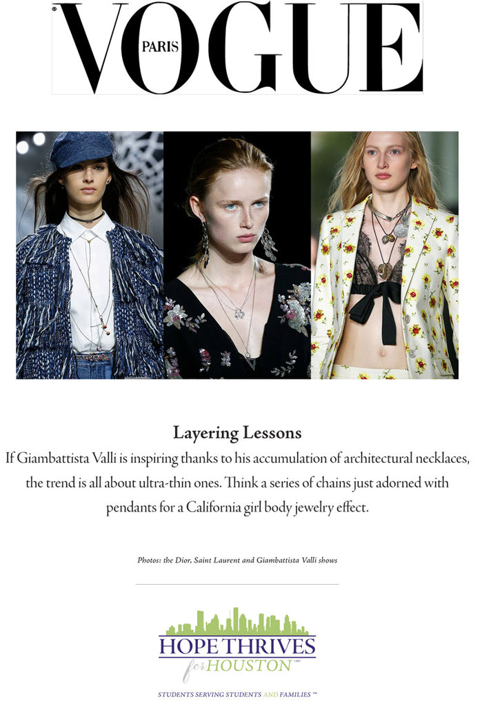 Layering Lessons