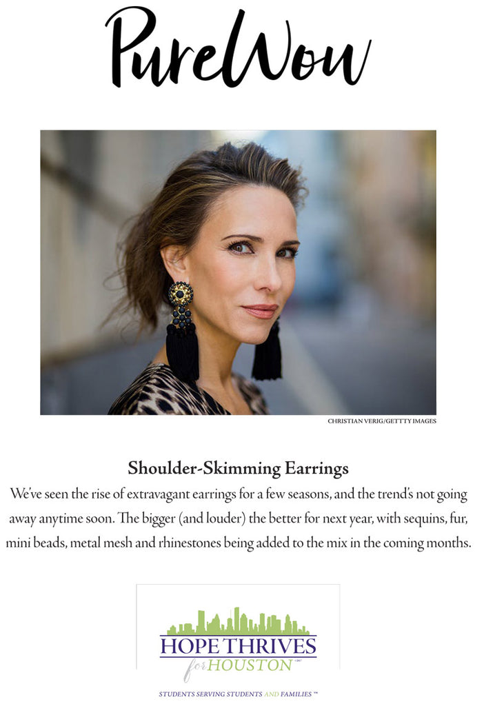 Shoulder-Skimming Earrings