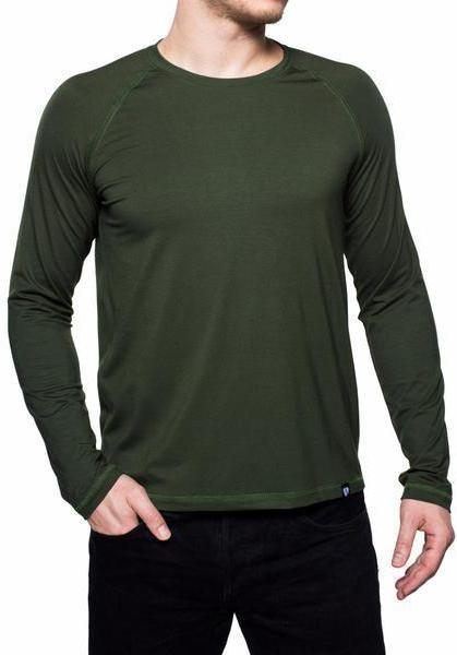 Cortina L-S Tee / Army Green