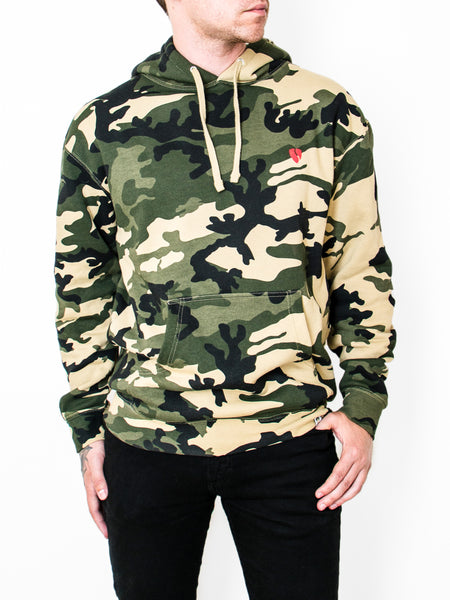 #SVIPE Camo Pullover Hoodie