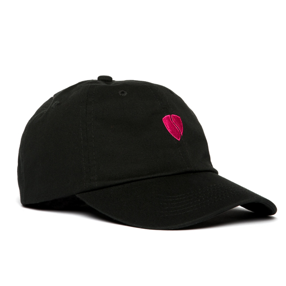 Zeus Step-Dad Hat / Black-Pink