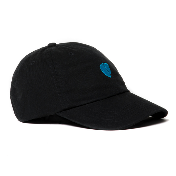 Zeus Step-Dad Hat / Black-Electric Blue