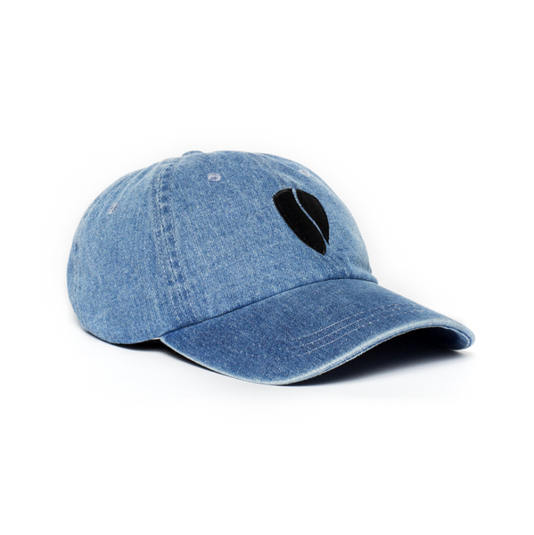 Zeus Step-Dad Hat / Denim-Black