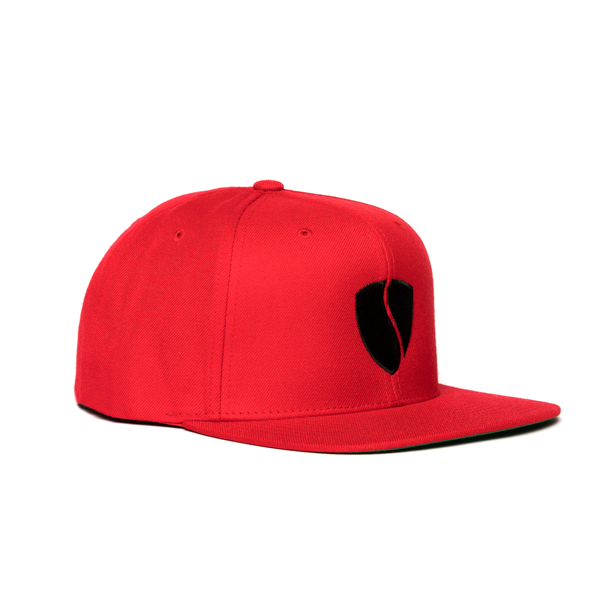 Hercules Hat - Red / Black