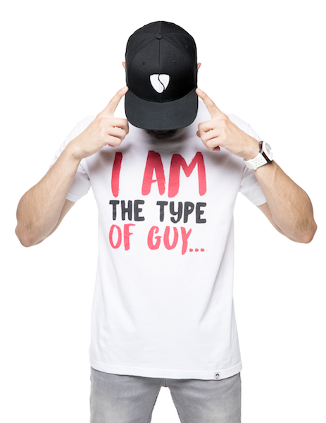 I'm The Type of Guy Tee - White