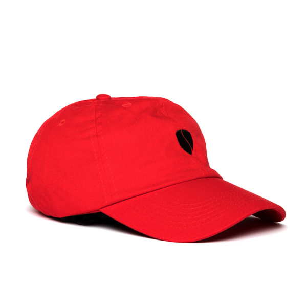 Zeus Step-Dad Hat / Red-Black