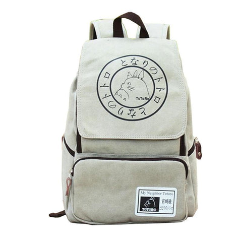 My Neighbor Totoro Canvas Backpack