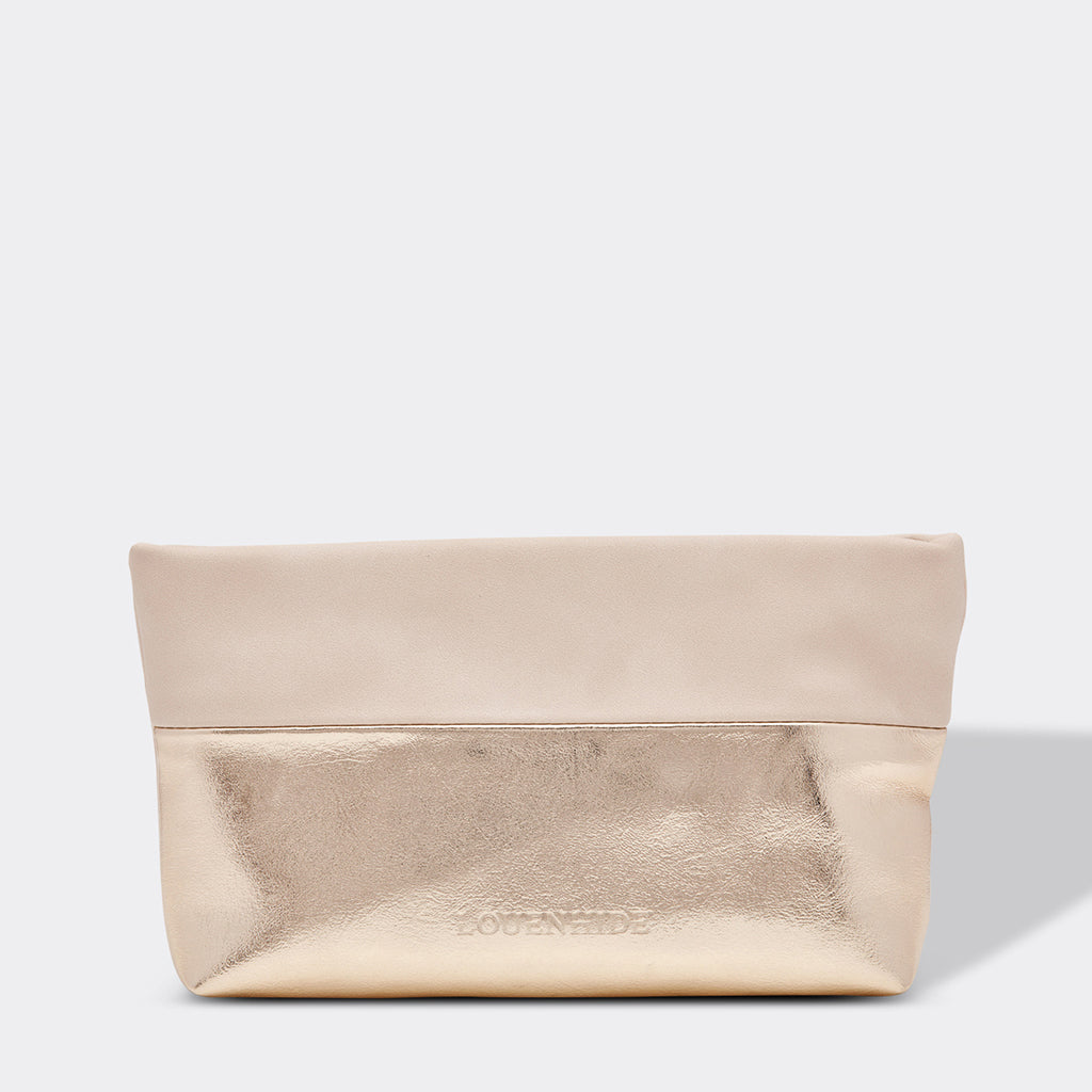 Louenhide Arizona Make Up Bag Champagne