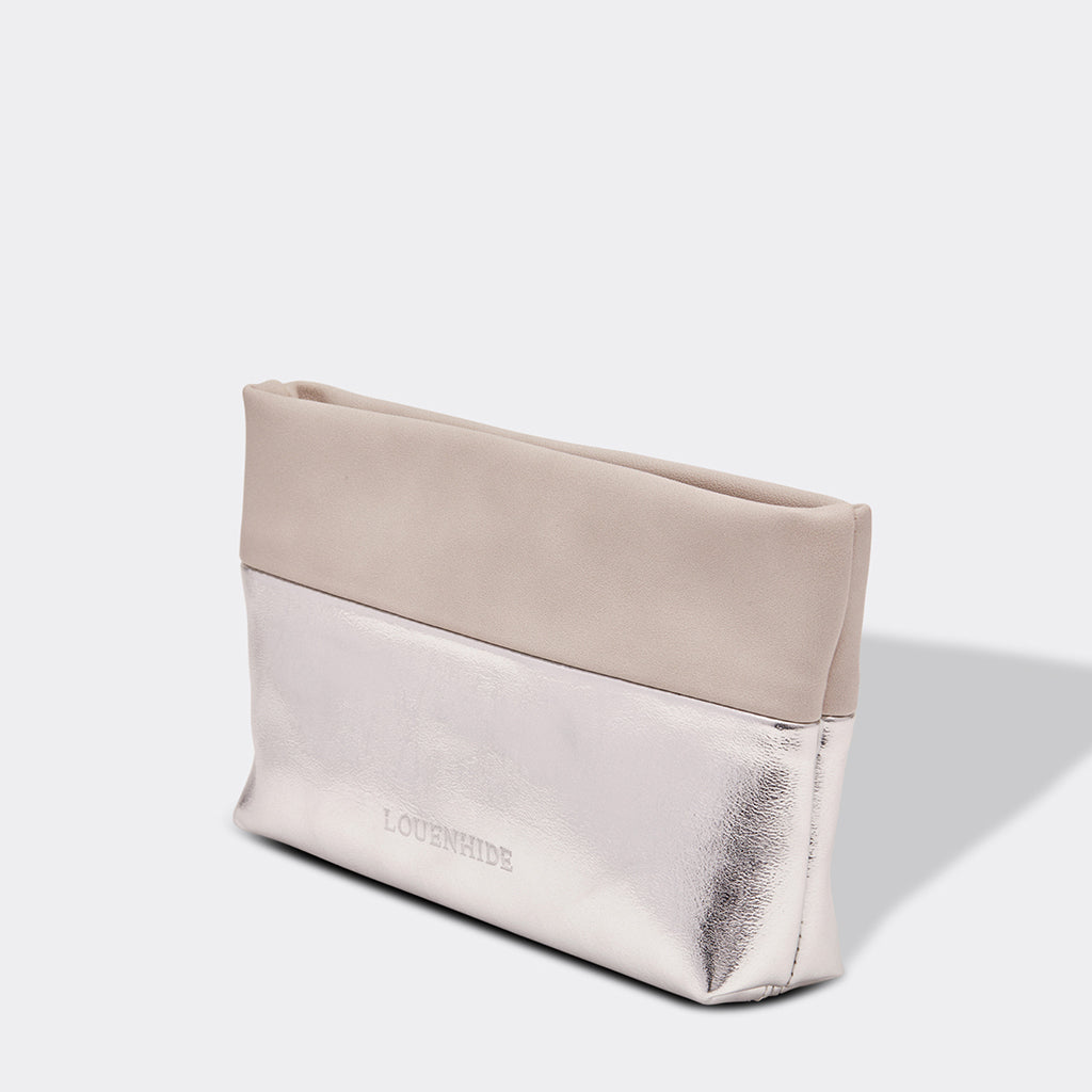 Louenhide Arizona Make Up Bag Silver