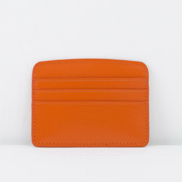 orange card case