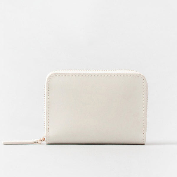 cream leather wallet