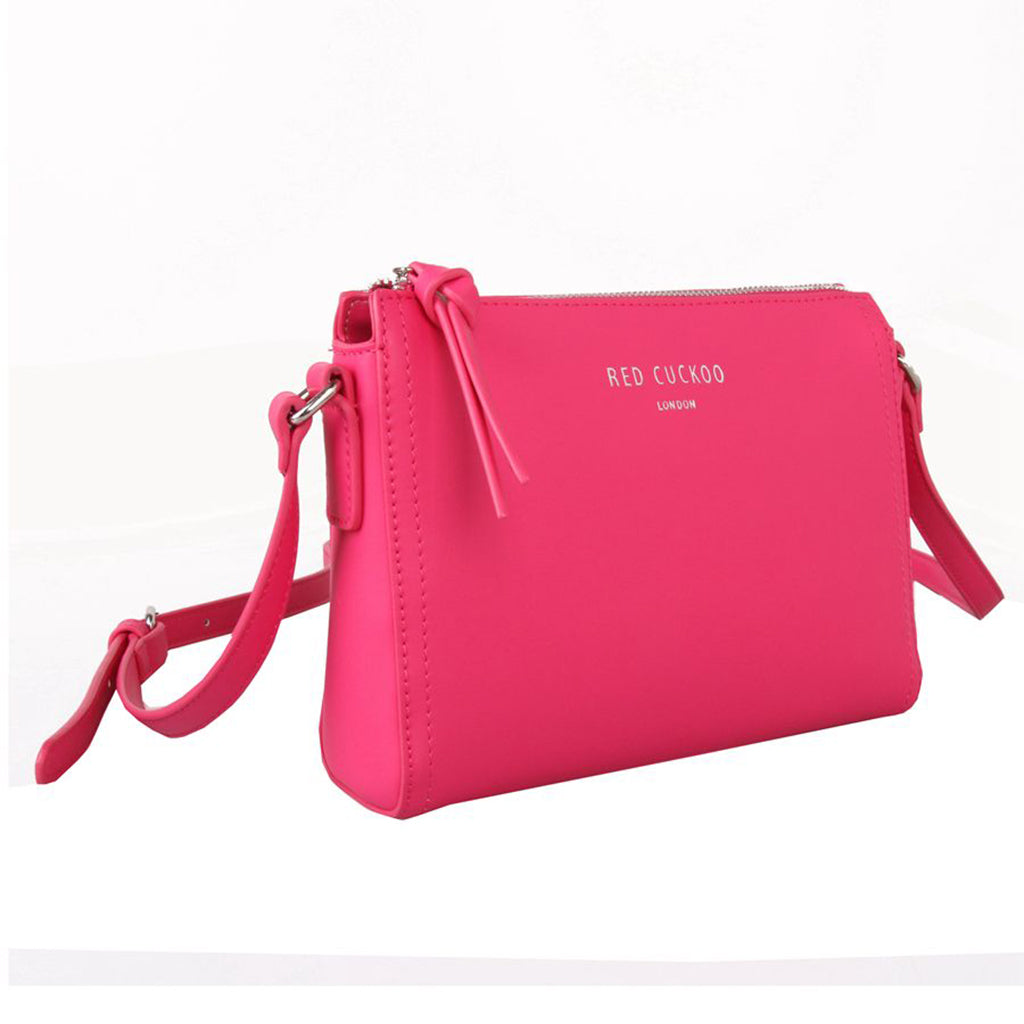 fuschia pink bag