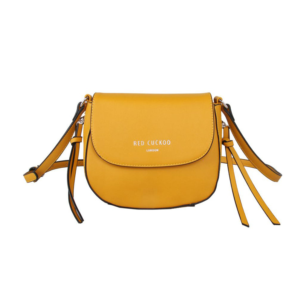 Cross Body Saddle Bag Mustard