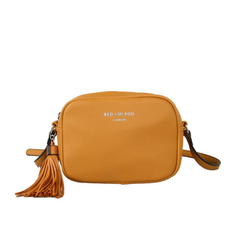 Cross Body Disco Bag Mustard