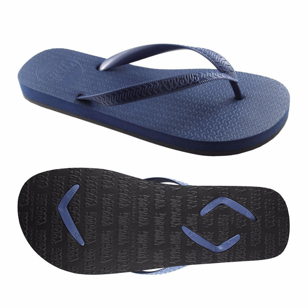 Men's Flip Flops Blue with Blue Strap