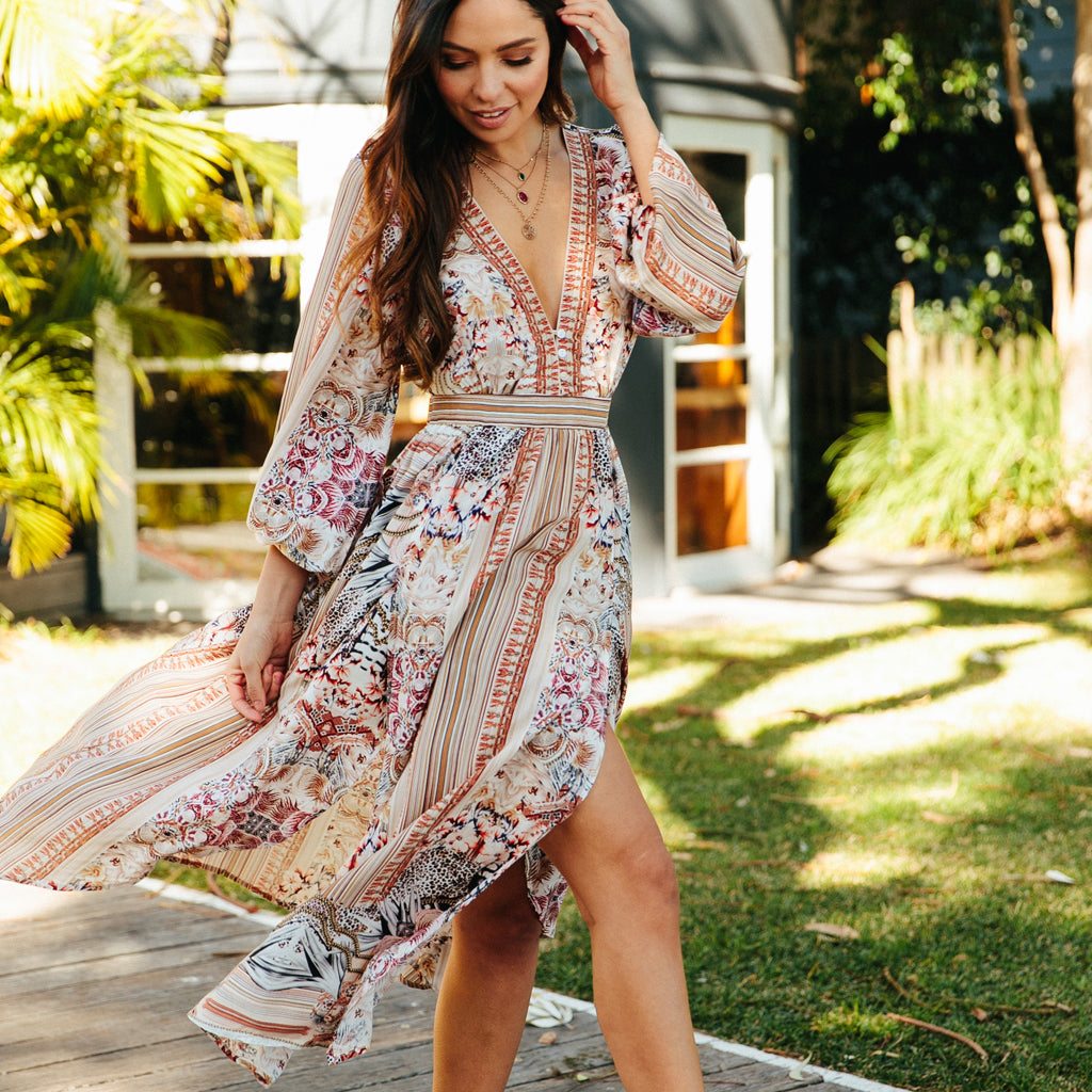 nixie maxi dress