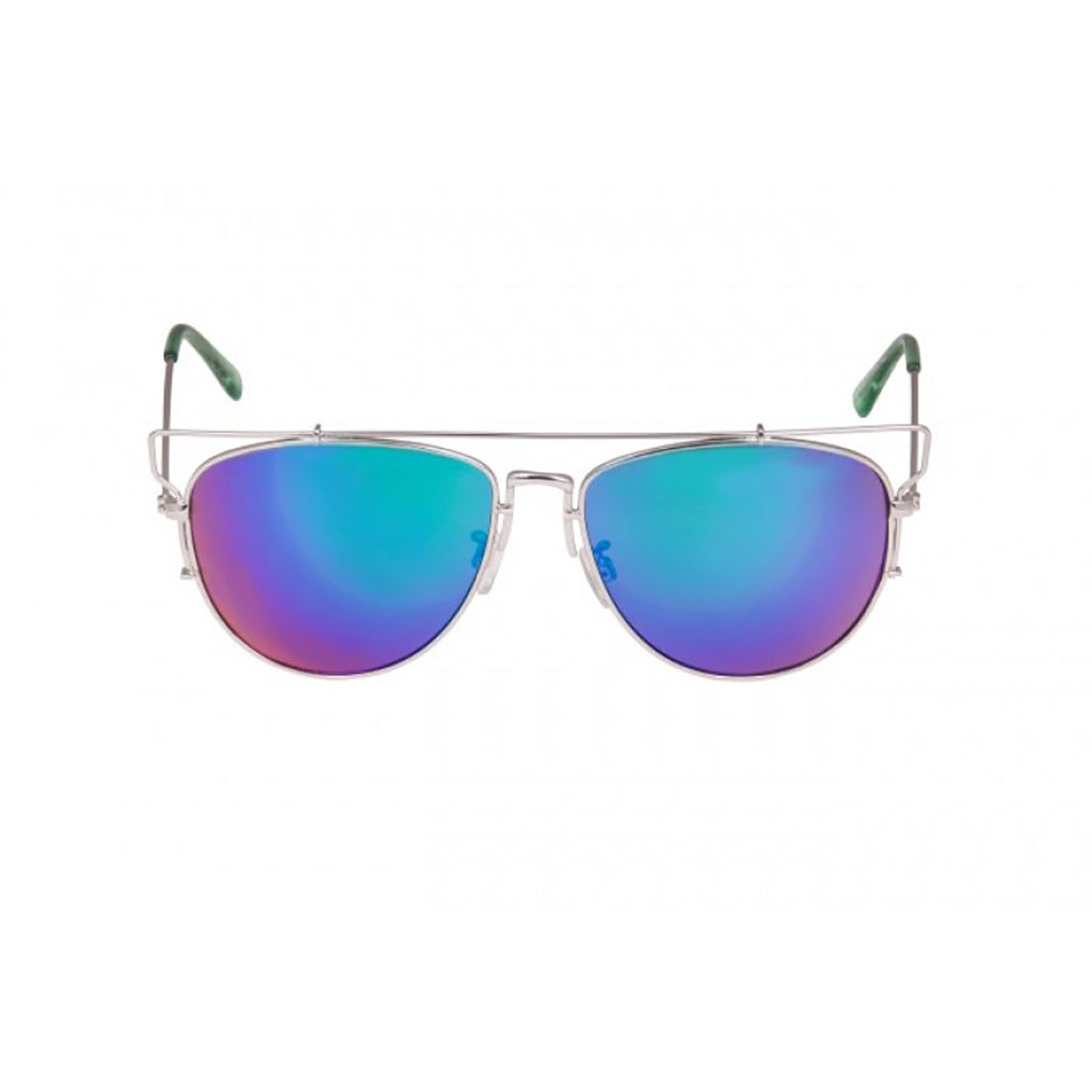 South Beach Aviator Blue Flash Sunglasses