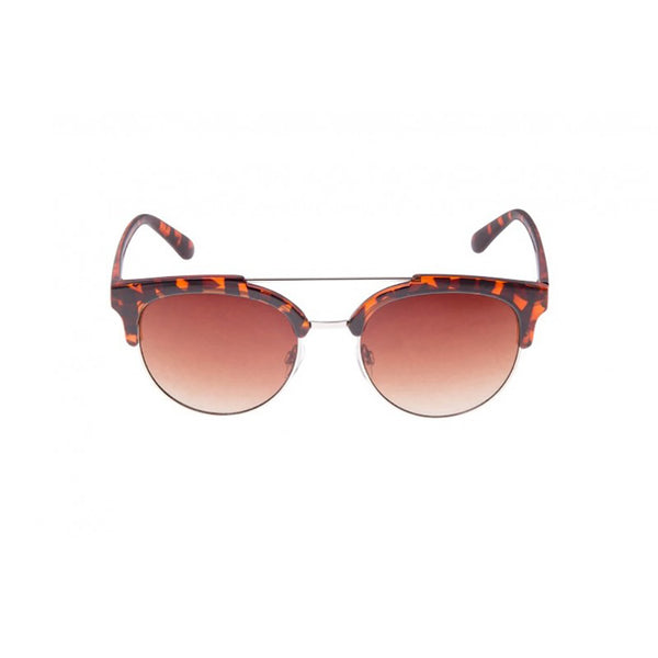Southbeach Cateye Sunglasses with Brow Bar Tortoise Shell