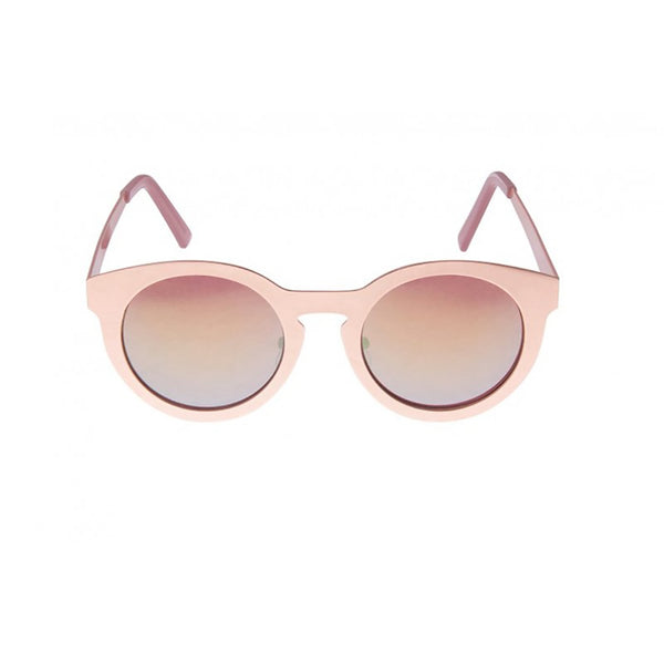 South Beach Metallic Pink Metal Framed Sunglasses