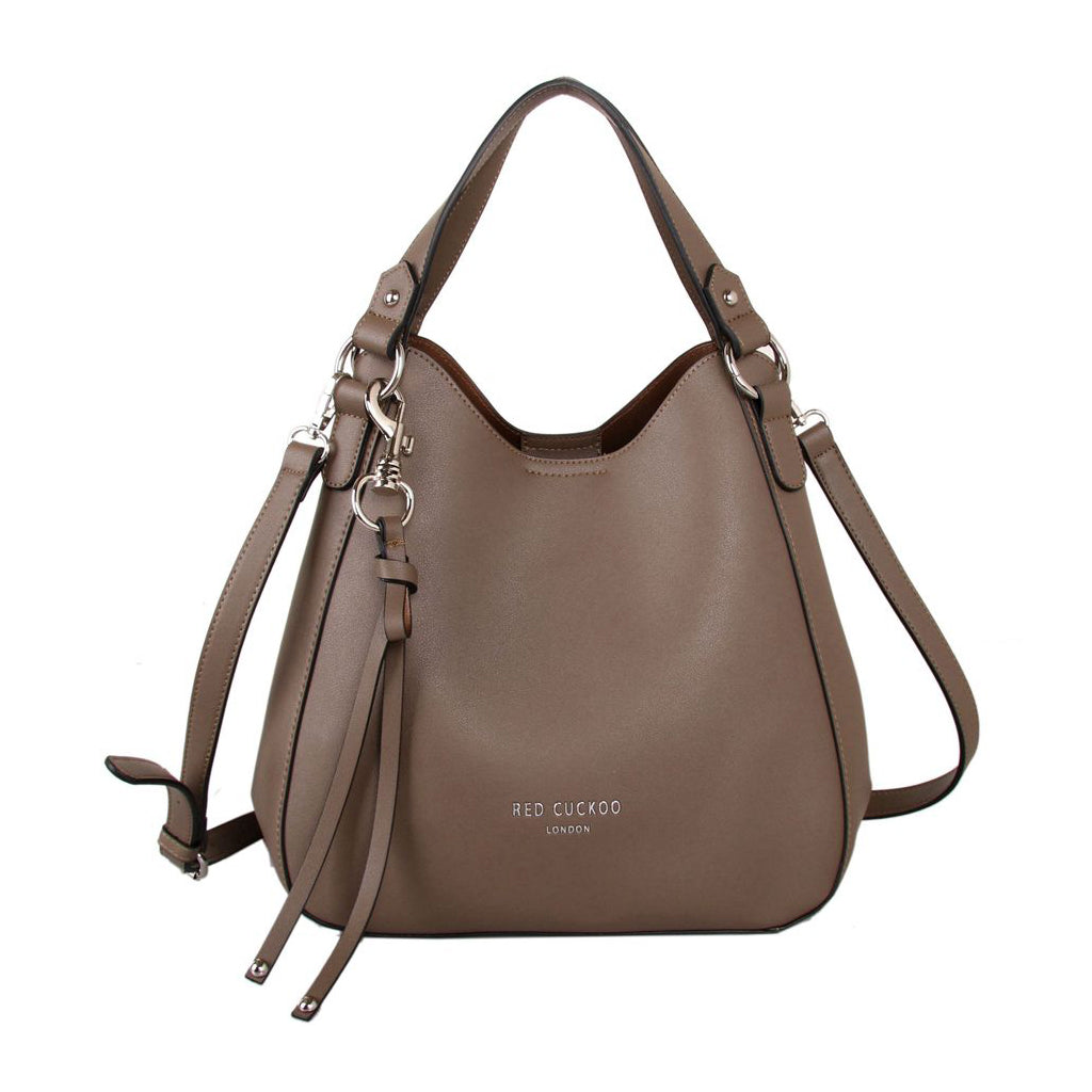Taupe Shoulder Bag