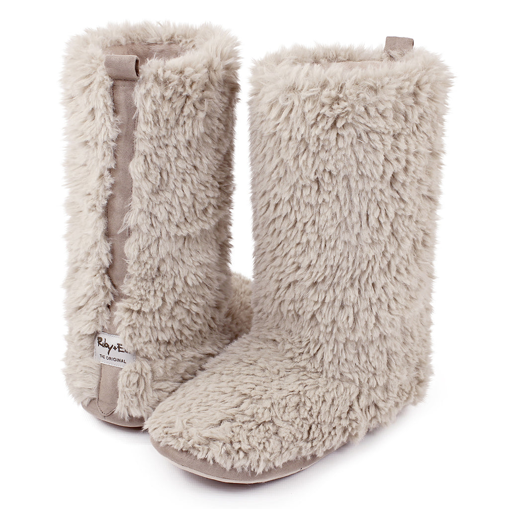 Teddy Slipper Boot