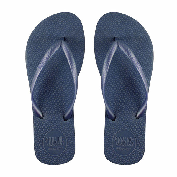 Blue Flip Flop with Blue Strap Slim Fit