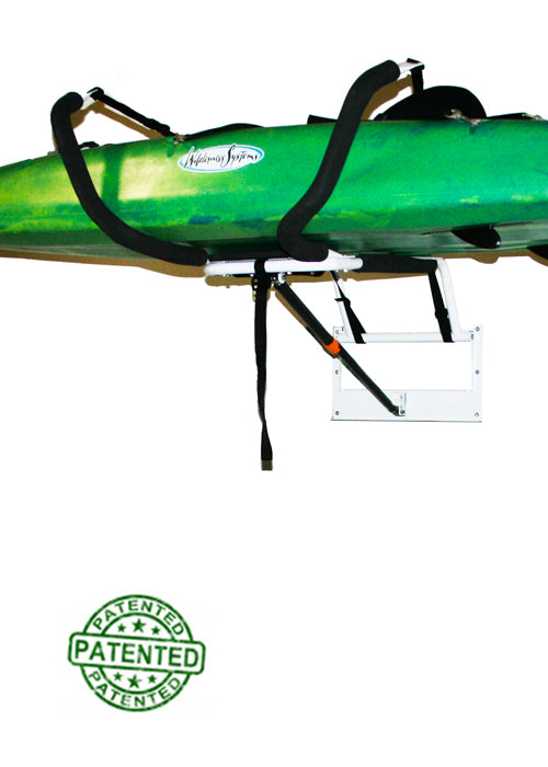 Kayak Storage Rack - Garage Wall or Home Kayak Storage Rack