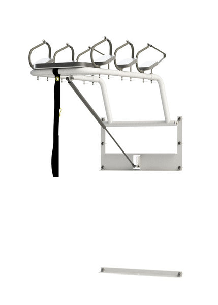 Snow Board Storage Rack