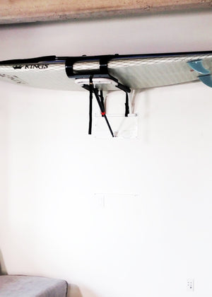 stand up paddle board garage wall rack