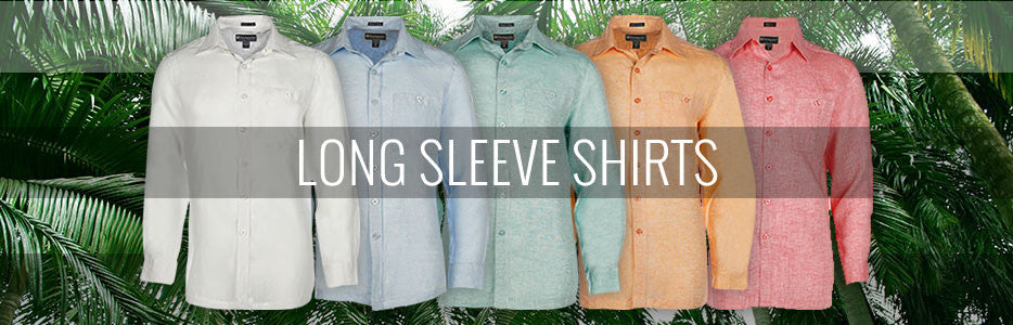 Men's Long Sleeve Casual & Tropical Shirts