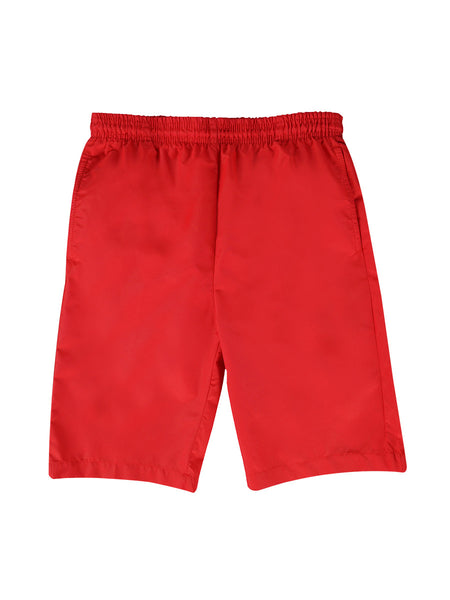 Boy's 4/7 Solid Nylon Swim Trunk - Classic
