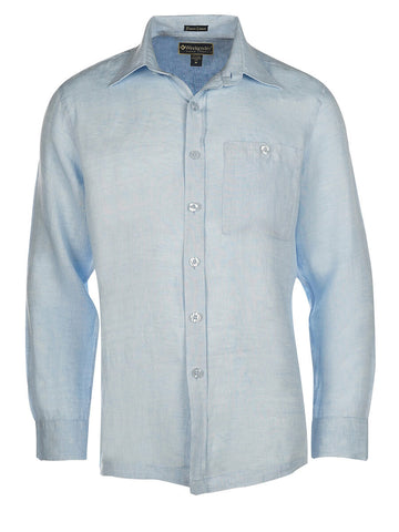 Men's Linen Shirt - Pavilion Long Sleeve