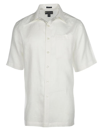 Men's Linen Shirt - Pavilion Short Sleeve