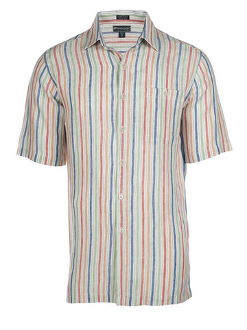 Men's Linen Shirt - Ashbury Short Sleeve