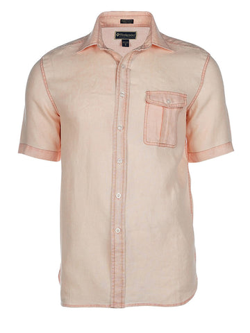 Men's Linen Shirt - Hana Short Sleeve