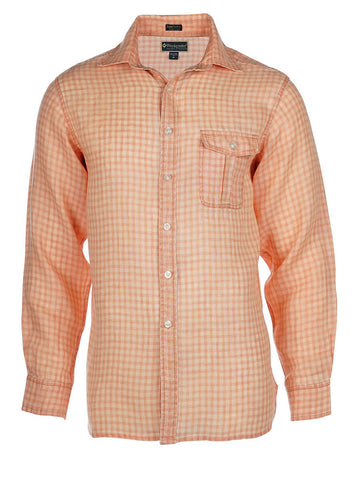 Men's Linen Shirt - Pearson Long Sleeve