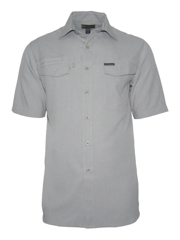 Men's Travel Shirt - Globe Trotter S/S