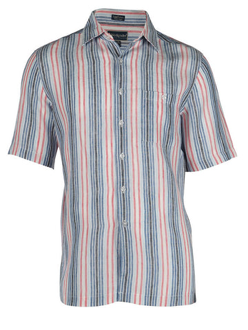 Men's Linen Shirt - Amalfi Short Sleeve