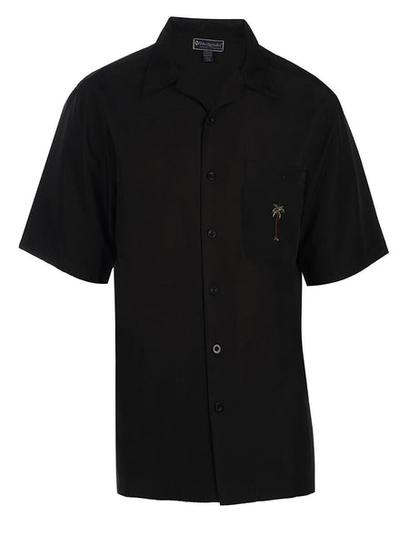 Men's Hawaiian Embroidery Shirt - Palmita
