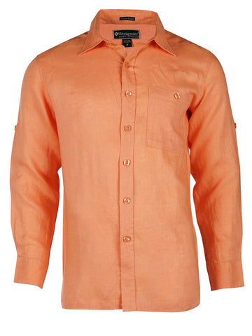 Men's Linen Shirt - Caribe Long Sleeve