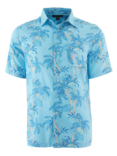Men's Hawaiian Cotton Print Shirt - The Grove