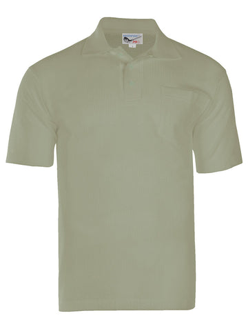 Men's Breezy Mesh Polo Shirt