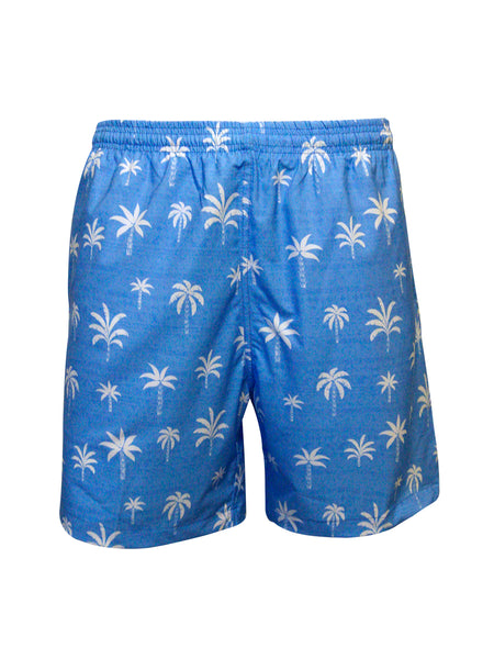 Men's Print Swim Trunk - Palm & Co.