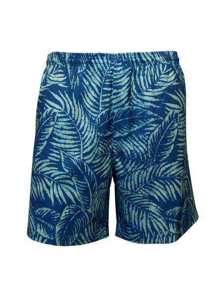 Men's Print Swim Trunk - Shady Branches