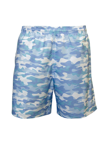Men's Print Swim Trunk - Sea Camo