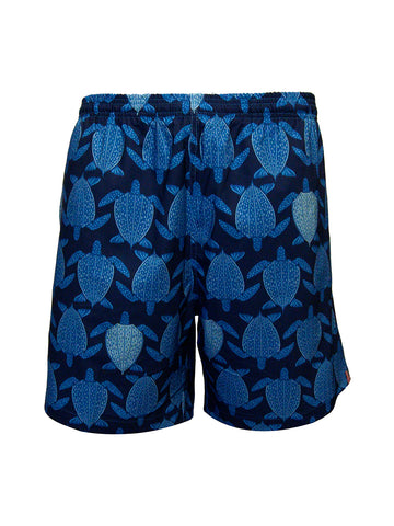 Men's Print Swim Trunk - Tortugas