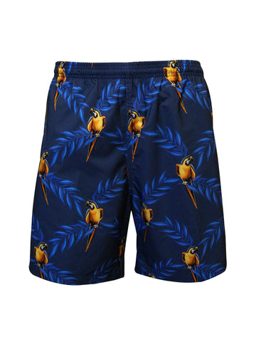 Men's Print Swim Trunk - Polly