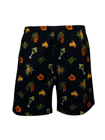 Men's Print Swim Trunk - Cocktails