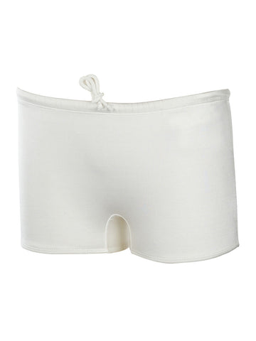 Men's Square Solid Swim Brief